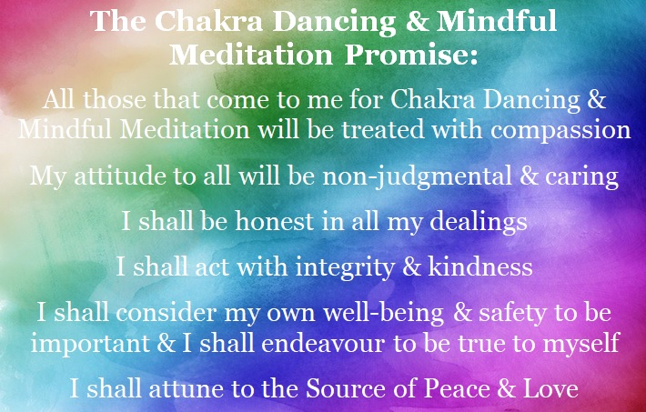 Bella Luna - The Chakra Dancing and Mindful Meditation promise